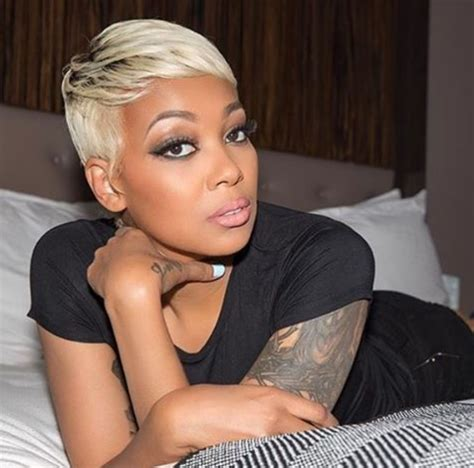hairstylese com monicabrown kills this blonde pixie black hair information