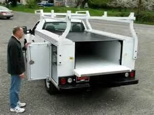 Tonneau Covers For Utility Trucks Pace Edwards Tonneau Cover Utility Bedlocker For Service