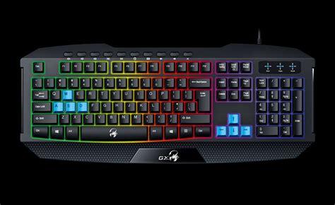 Genius Scorpion K220 Keyboard Gaming scorpion k215 de genius teclado para juegos con retroiluminaci 243 n teclas multimedia y