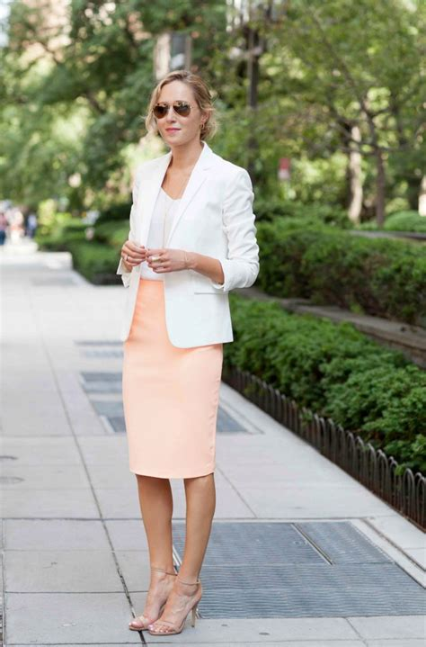pencil skirts for work professional combinations