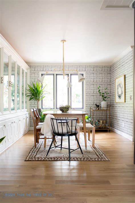 eclectic classic mid century dining room reveal bigger