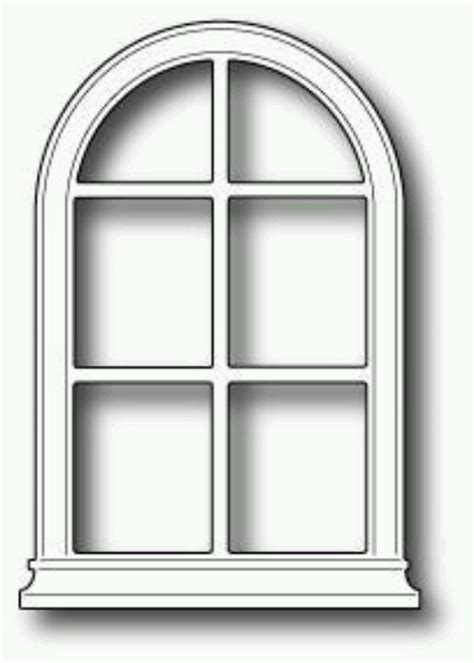 arched window cards poppyst memory box pinterest