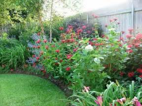 Backyard Flower Bed Ideas Gardening Landscaping Flower Garden Ideas Flowers Garden Design Ideas Design Basics