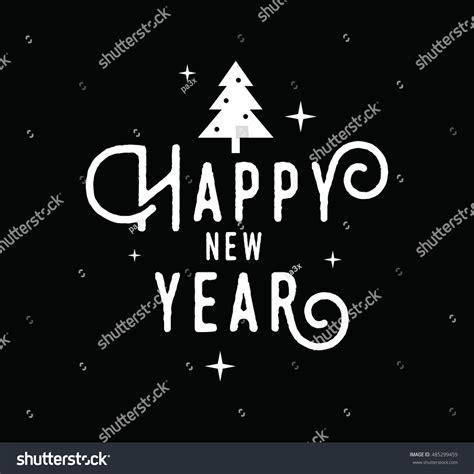 new year design logo happy new year 2017 text design vector logo typography