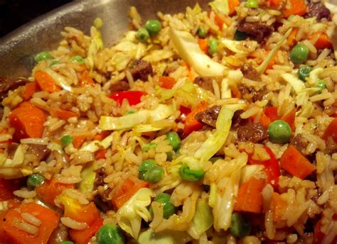 nasi goreng nasi goreng indonesian fried rice vegan style