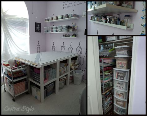 ikea hack craft room how i organized my sewing room custom style