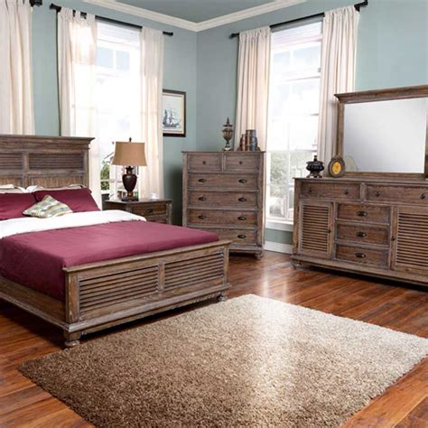 lakeport pewter bedroom set the furniture shack