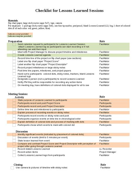 lessons learned template project management lessons learned templates project management mastertricks