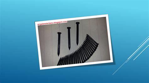 Paku Beton Paku Dinding 6 mengenal lebih detail 4 jenis paku di dunia konstruksi