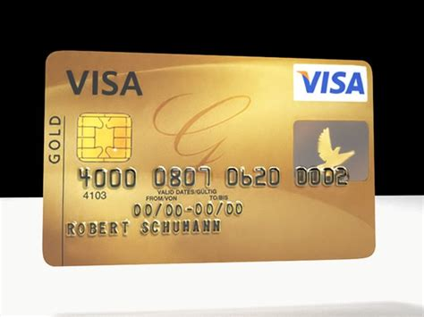 how to make visa card visa credit card 3d model