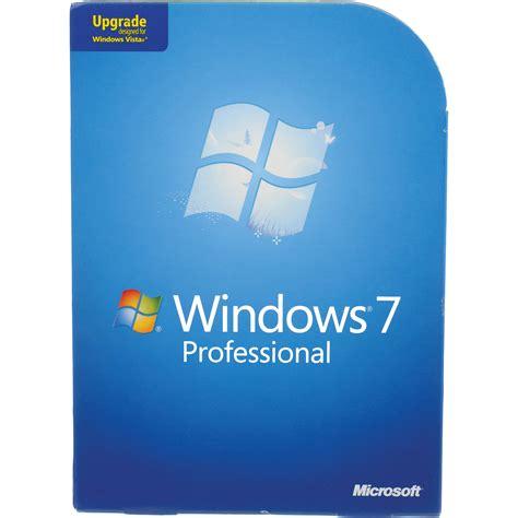 Microsoft Windows 7 Pro microsoft windows 7 professional 32 or 64 bit fqc 00130 b h