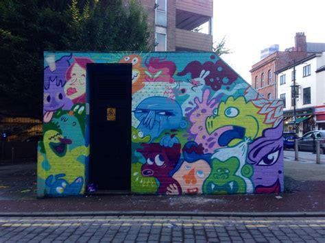 manchester graffiti art northern quarter  street art