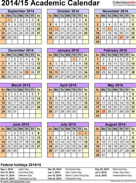 2014 2015 calendar sdusd calendar template 2016