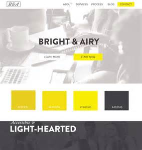 color suggestions for website 5 web design color palettes from black and gold websites
