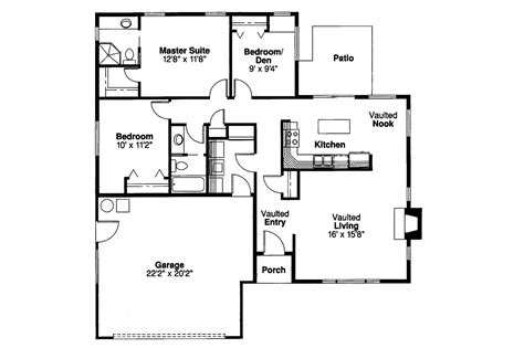 traditional floor plans traditional house plans norden 10 216 associated designs