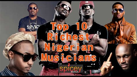 top 10 richest musicians in nigeria and their net worth 2018 top 10 richest musician and their net worth 2017
