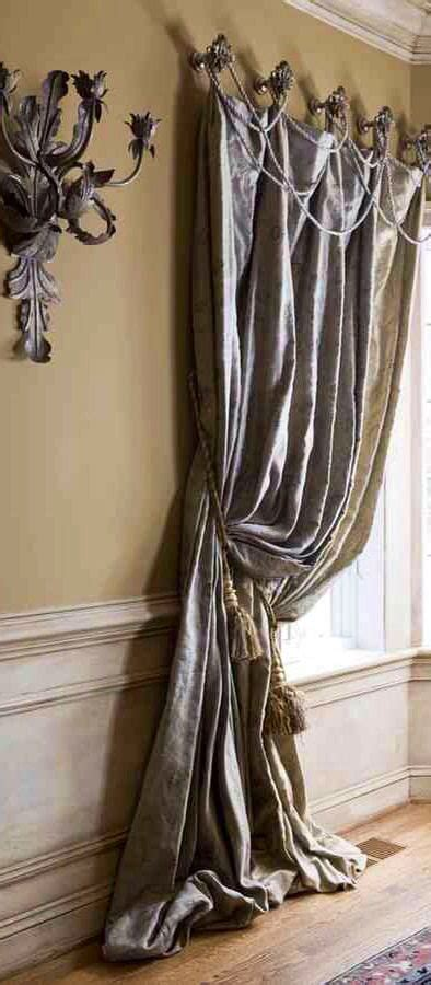 Custom Drapes And Curtains Inspiration Draped Roping Is An Easy Way To Embellish A Drapery Trimming And Custom Draperies Available