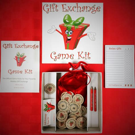 holiday gift exchange games printable games