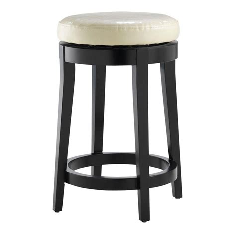 home decorators collection bar stools home decorators collection 24 in black swivel cushioned