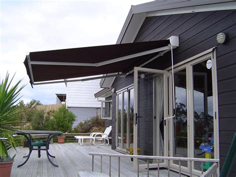 retractable awning retractable awnings automated awnings auckland