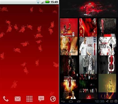 Tema Liverpool Untuk Android | kumpulan tema aplikasi keyboard android liverpool terbaik
