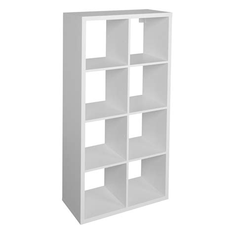 B Q Bathroom Shelves Form Mixxit White 8 Cube Shelving Unit H 1420mm W 740mm Departments Diy At B Q