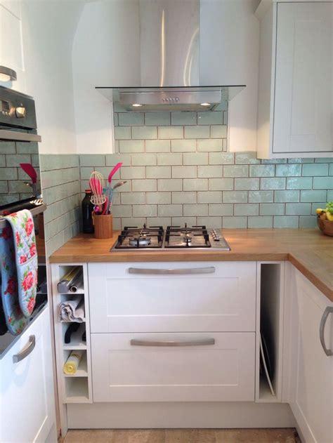 blue kitchen tiles ideas best 25 butcher block kitchen ideas on