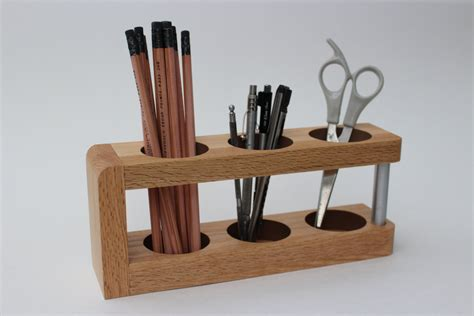 Modern Desk Caddy Wood Desk Organizer Mid Century Modern Desk Organizer Wood