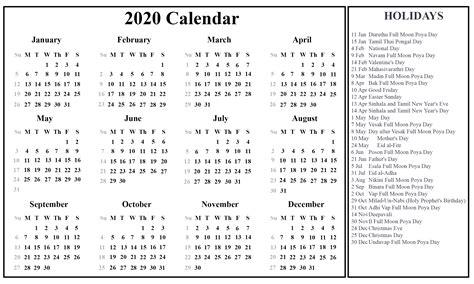 sri lanka calendar   excel word printable april calendar template