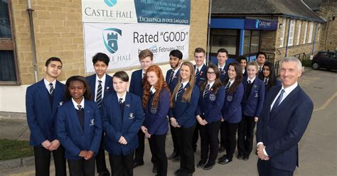 student guides advertise blogs tv back student castle newcastle mirfield s castle hall academy is back to good it s