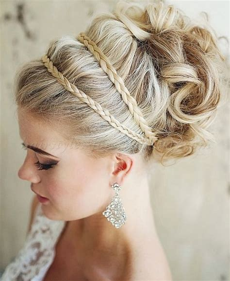 Wedding Updos With Braids And Curls by Wedding Updos With Braids And Curls Www Imgkid The