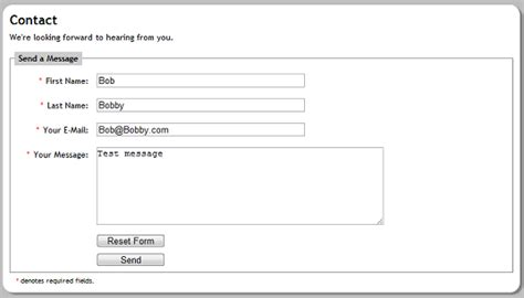 Basic Simple Php Contact Form Template Proofreadingx Web Fc2 Com Contact Form Php Template