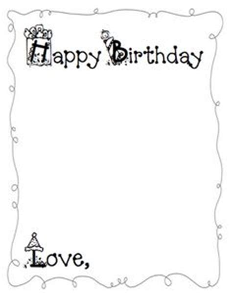 Student Birthday Card Template by 1000 Images About Gift On