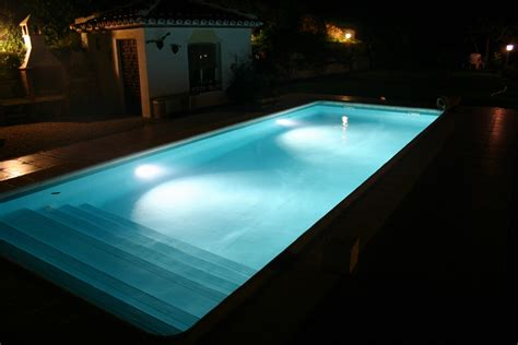 pool beleuchtung pool lagos swiss water consulting