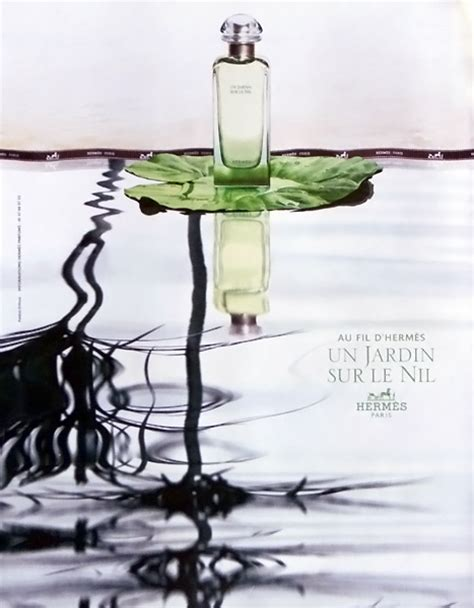 Original Parfum Hermes Un Jardin Sur Le Nil Mini 7 5ml advert of the fragrance un jardin sur le nil 2005 by hermes