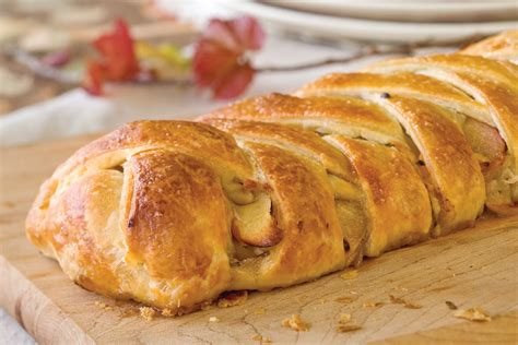 Traditional Home Decorating by Savory Apple Strudel Recipe Victoria Magazine