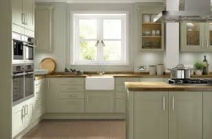 beautiful Paint Colors For Kitchen Cabinets And Walls #3: olive-green-kitchen.jpg
