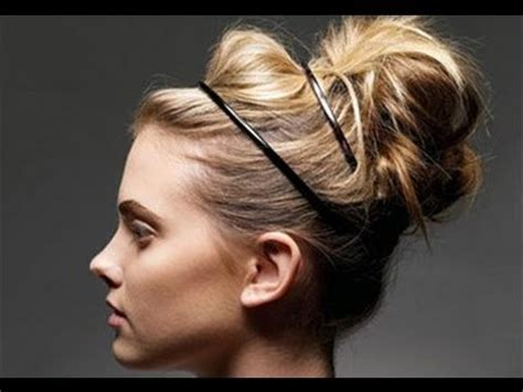 updo hairstyles no heat easy no heat updos in under 5 minutes rachhloves youtube