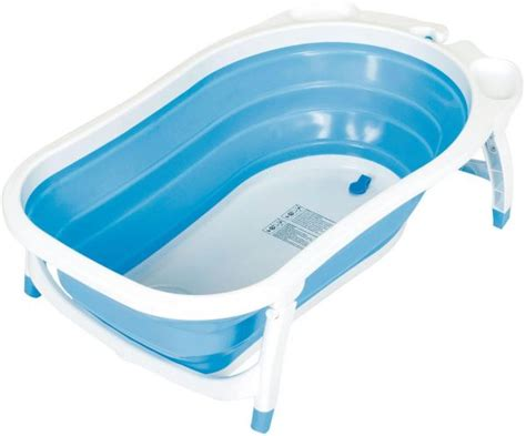 foldable baby bathtub children folding bath tub blue price review and buy in
