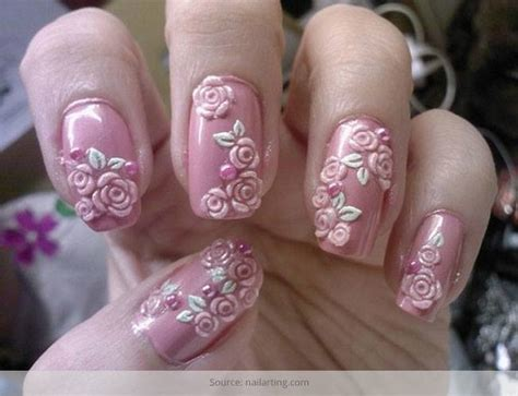 amazing nail designs 55 most beautiful flowers nail design ideas