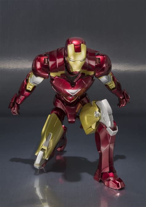 iron man dom bluefin expands tamashaii nations s h figuarts marvel