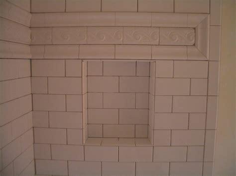 bathroom tile spacing subway tile shower