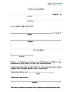 Business Ownership Contract Template Sample Purchase Agreement For House Sales Agreement Form