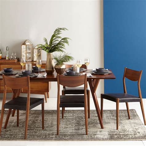 west elm dining room a colorful mid century home in dallas front main