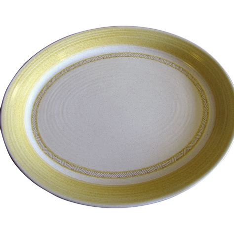 gold pattern dinnerware large 14 quot serving platter hacienda gold pattern by