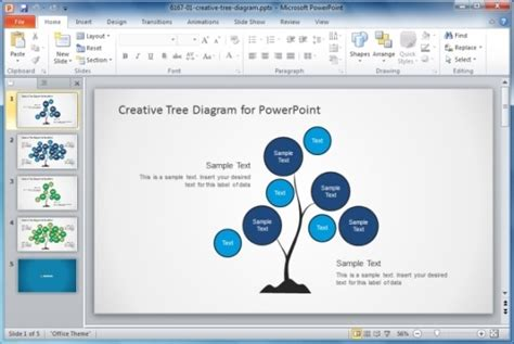 Best Organizational Chart Templates For Powerpoint Creative Powerpoint Template