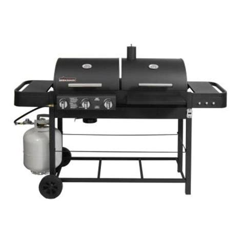 brinkmann dual function ii propane gas and charcoal grill