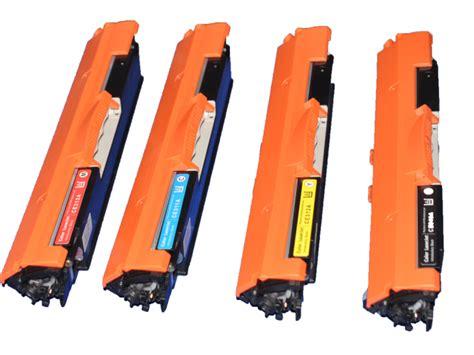 Murah Hp Color Laserjet Toner Cartridge Ce 311a Cyan 126a refillable new 310a 311a 312a 313a hp color toner