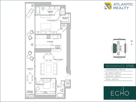 echo brickell floor plans echo brickell new miami florida beach homes