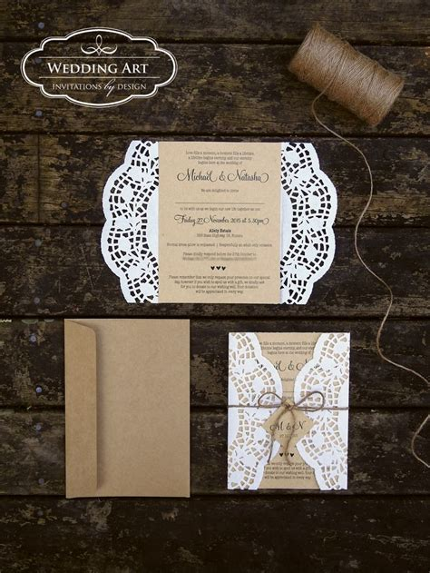 Wedding Invitations Using Doilies by The 25 Best Ideas About Paper Doilies On